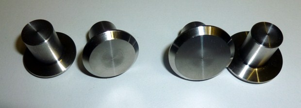 Stainless steel Butt caps