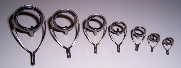 Des anneaux oxide titane avec pattes courbé