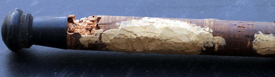 Cork damaged