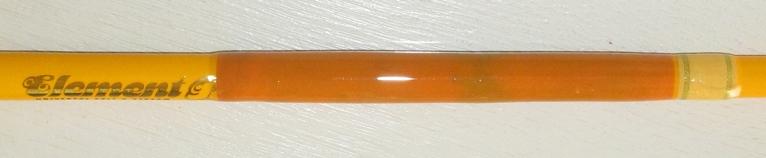 Repaired sea rod